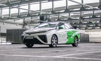 Toyotom Mirai prešli pet miliona kilometara na vodonik