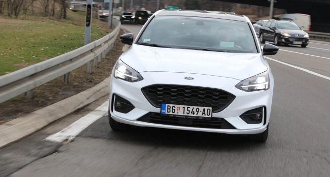 TEST: Ford Focus 1,0 EcoBoost ST-Line