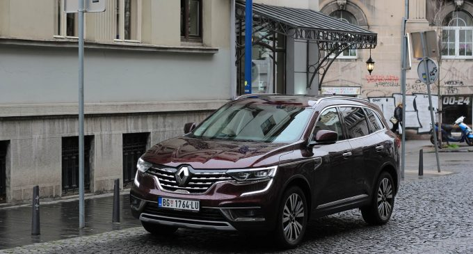 Redizajnirani Renault Koleos na testu Auto magazina