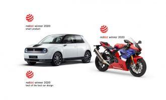 Honda osvojila tri Red Dot nagrade