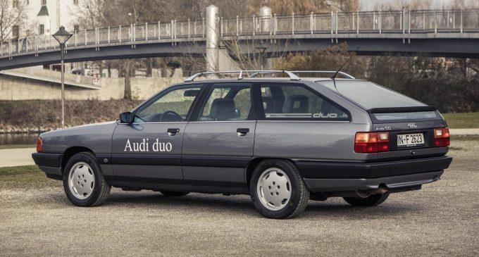Audi Duo je Plug in Hybrid konstruisan 1989. godine