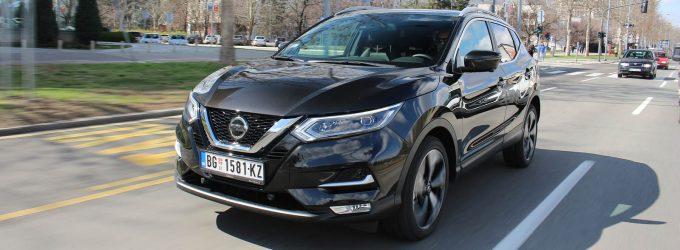 TEST: Nissan Qashqai 1,3 DIG-T DCT 160 Tekna