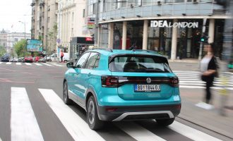Testiramo VW T-Cross 1,0 TSI