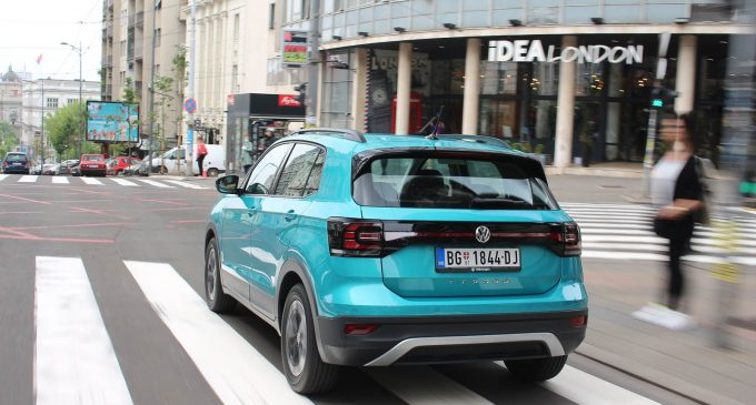 Testiramo VW T-Cross 1,0 TSI