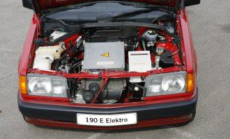 Mercedes 190E Electro – eksperiment koji je trajao 4 godine