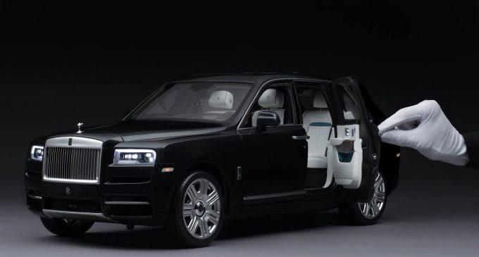 Rolls-Royce Cullinan: perfekcija bez obzira na razmeru