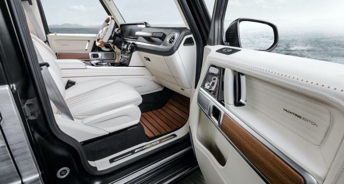 Inspirisan jahtama: Mercedes-AMG G63 Yachting Edition