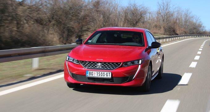 TEST: Peugeot 508 1.6 PureTech GT