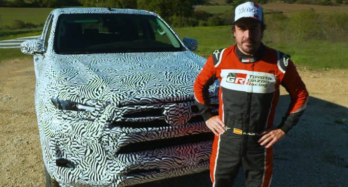Fernando Alonso testirao novu Toyotu Hilux
