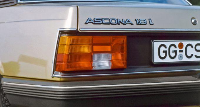 Opel Ascona 1.8i prvi nemački automobil sa katalizatorom