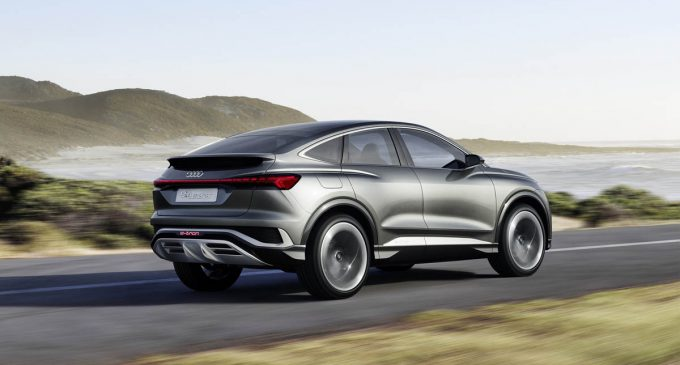 Audi Q4 Sportback E-Tron Concept zaživeće 2021.