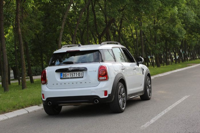Auto magazin Srbija Test Mini Countryman Cooper S All4