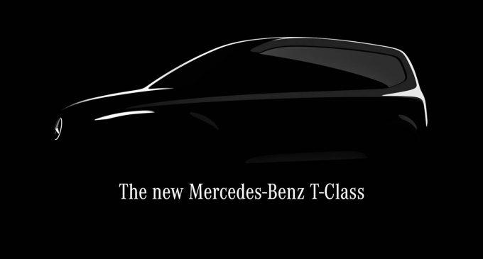 Mercedes-Benz T-Class stiže 2022. godine