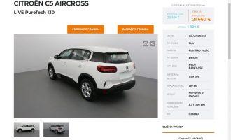 Omogućen detaljan pogled na sve Citroën modele sa lagera