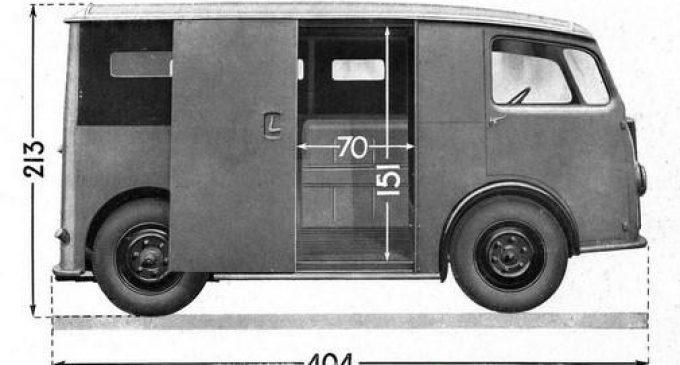 Citroen TUB je prvi kombi sa kliznim bočnim vratima