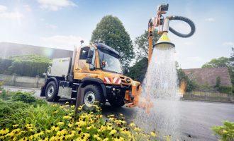 Mercedes Unimog: zalivajte baštu sa stilom