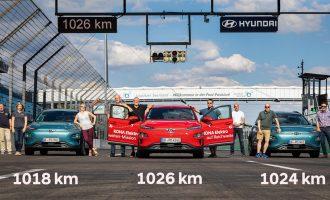 Hyundai Kona Electric: domet od 1.000 km sa jednim punjenjem baterija