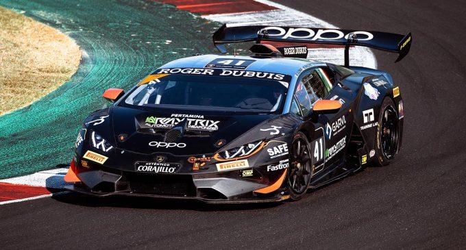 Miloš Pavlović pobedio na prvoj trci Lamborghini Super Trofeo šampionata