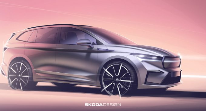 Škoda prikazala skice električnog SUV-a Enyaq iV