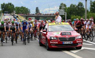 Škoda i ove godine podržava Tour de France