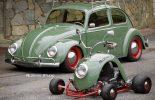 Aldekas pravi karting od krila VW Bube