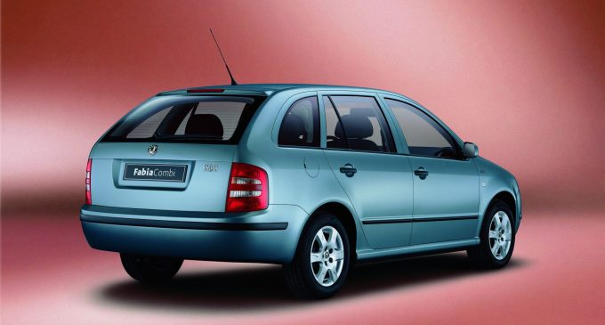 Škoda Fabia Combi slavi 20. rođendan