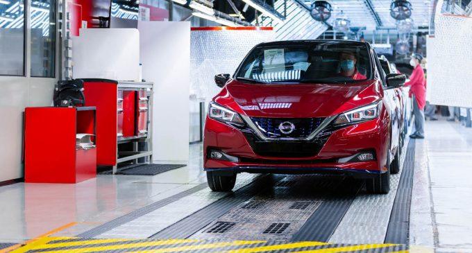 Nissan Leaf proizveden u pola miliona primeraka