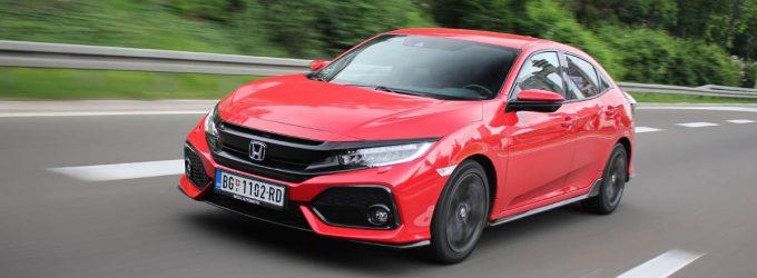 TEST: Honda Civic 1,5 Turbo Sport