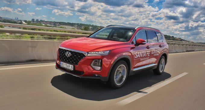 Hyundai Santa Fe na testu Auto magazina