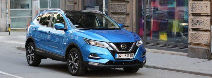 TEST: Nissan Qashqai 1,7 dCi 150 4WD CVT N-Connecta Sun