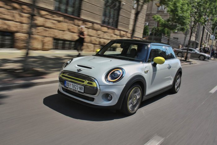 Auto magazin Srbija Mini Cooper SE Test