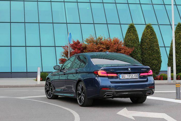 Auto magazin Srbija Test BMW 520d xDrive