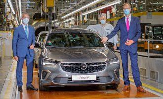 Redizajnirana Opel Insignija i dalje dolazi iz Riselshajma