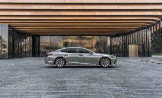 Evropska premijera: novi Lexus LS