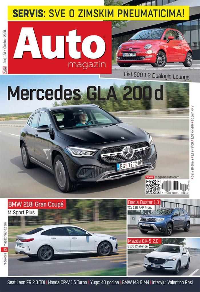 Auto magazin broj 138 oktobar 2020