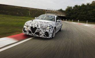 Raikonen i Đovanaci testiraju novu Alfu Giulia GTA