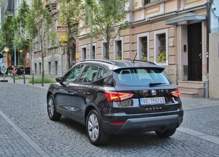Auto magazin Srbija test Seat Arona 1,0 TSI DSG Style