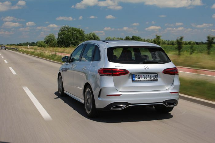 Auto magazin Srbija Test Mercedes B 200 B Class B klase