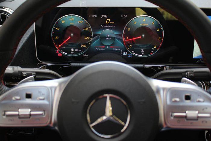 Auto magazin Srbija Test Mercedes B 200