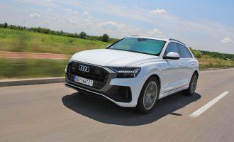 TEST: Audi Q8 50 TDI quattro tiptronic