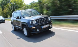TEST: Jeep Renegade 2,0 MultiJet II 4×4 Longitude