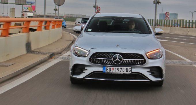 Testiramo redizajnirani Mercedes E klase