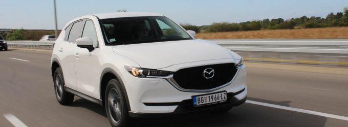 TEST: Mazda CX-5 Skyactiv-G165 Challenge