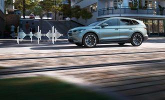Poslušajte kako zvuči električna Škoda Enyaq iV