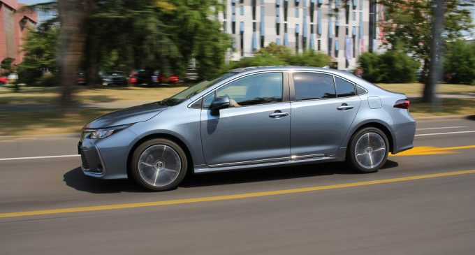 TEST: Toyota Corolla 1,6 Valvematic Sol