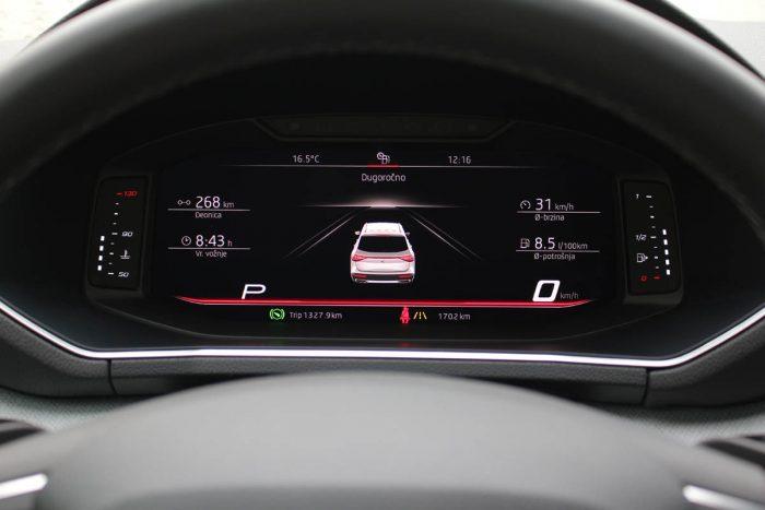 Auto magazin Srbija Test Seat Tarraco 2.0 TDI DSG 4Drive