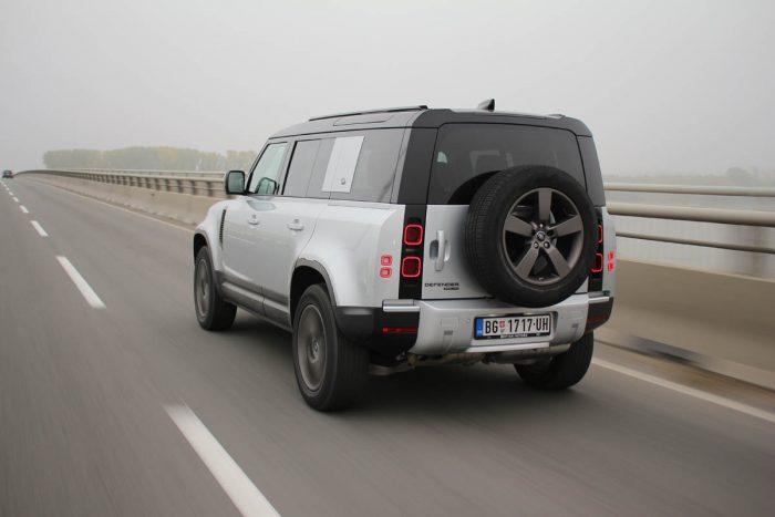 Auto magazin Srbija Test Land Rover Defender
