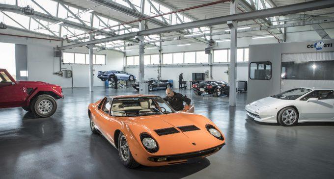Nesavršenost je perfekcija, kaže Lamborghini odeljenje za restauraciju