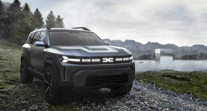 Ovo je nova Dacia Bigster ali i novi logo marke