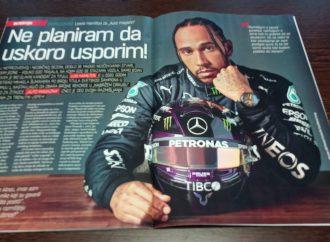 Lewis Hamilton ekskluzivno za Auto magazin: Ne planiram da usporim!